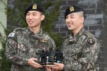 BIGBANG'den Taeyang ve Daesung Askerdön Döndüler