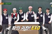 Netizenler EXO'lu Knowing Brothers Bölümünde Kahkahalara Boğuldular